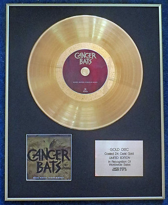 Cancer Bats - Exclusive Limited Edition 24 Carat Gold Disc - Bears, Mayors, Scra