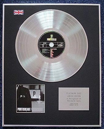 Portishead - Limited Edition CD Platinum LP Disc -'Portishead'