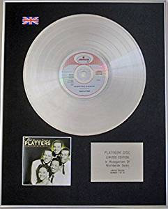 THE PLATTERS - Ltd Edition CD Platinum Disc - THE MAGIC