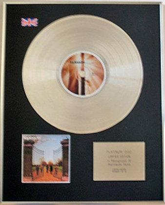 TOPLOADER - Limited Edition CD Platinum Disc - ONKA'S BIG MOKA