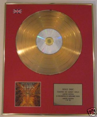 CYNIC - Ltd Edt CD Gold Disc - FOCUS