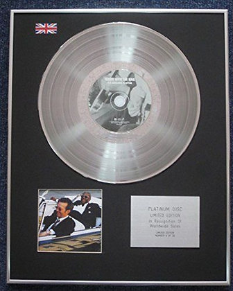 B.B. King and Eric Clapton - CD Platinum LP Disc - Riding with the King