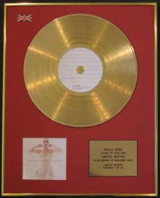 ANNIE LENNOX - CD 24 Carat Gold Disc - COLLECTION