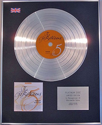 GO BETWEENS - Limited Edition CD Platinum Disc - TULLULAH