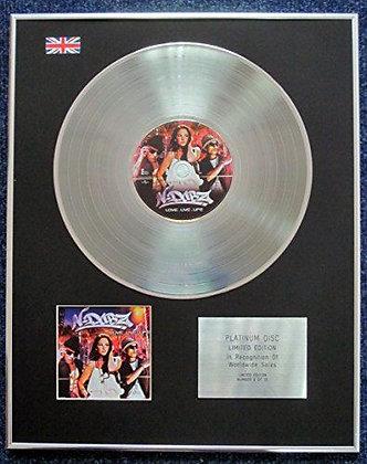 N-Dubz - Limited Edition CD Platinum LP Disc - Love.Live.Life