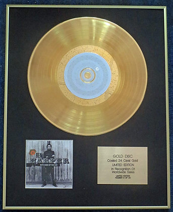 Ben Harper - Exclusive Limited Edition 24 Carat Gold Disc - Both Sides of the