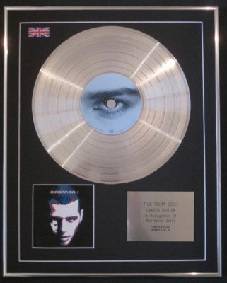 D:REAM - Ltd Edtn CD Platinum Disc -VOL1