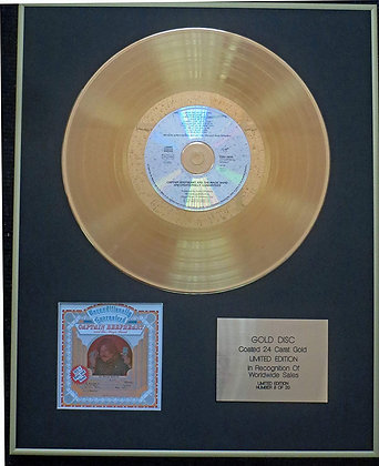 Captain Beefheart - Exclusive Limited Edition 24 Carat Gold Disc - Unconditional