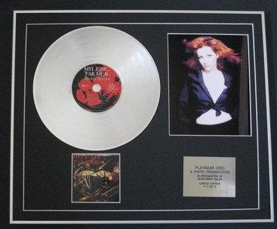 MYLENE FARMER  - CD Platinum Disc + Photo  - POINT DE SUTURE