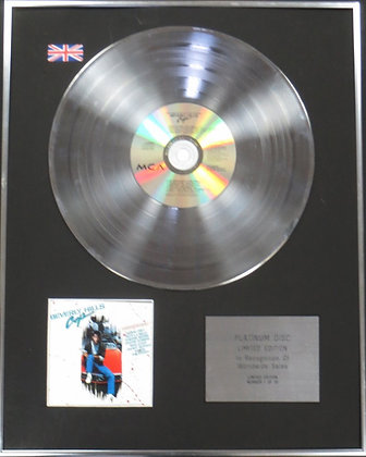BEVERLEY HILLS COP - Limited Edition CD Platinum Disc - THE SOUNDTRACK