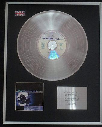 Burt Bacharach - Limited Edition CD Platinum LP Disc - Songbook