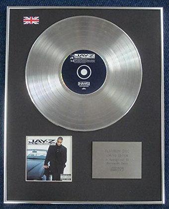 Jay-Z - Limited Edition CD Platinum LP Disc - Vol. 2... Hard Knock Life