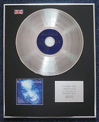 Randy Crawford - Limited Edition CD Platinum LP Disc - The very best of