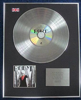 Robyn - Limited Edition CD Platinum LP Disc - Robyn