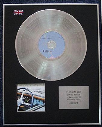 Donald Fagen - Limited Edition CD Platinum LP Disc - Kamakiriad