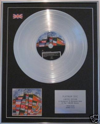RADIOHEAD  - CD Platinum Disc- HAIL TO THE THIEF