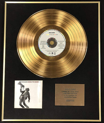 Bryan Adams - Exclusive Edition 24 Carat Gold Disc - Waking Up The?