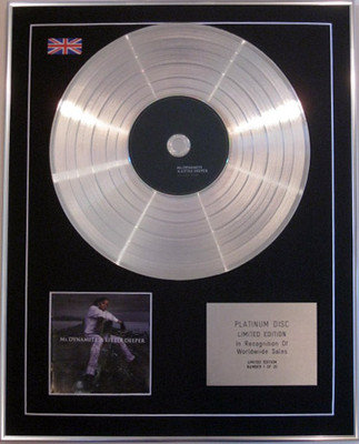 MS DYNAMITE - Limited Edition CD Platinum Disc- A LITTLE DEEPER