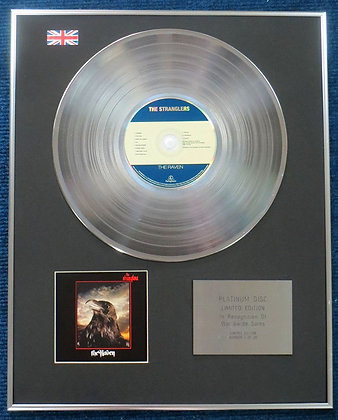 Stranglers - Limited Edition CD Platinum LP Disc - Raven
