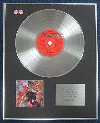 Santana - Limited Edition CD Platinum LP Disc - Abraxus