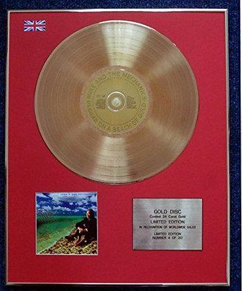 Mike + The Mechanics - CD 24 Carat Gold Coated LP Disc - Beggar on a Beach…