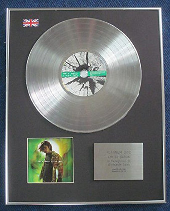 Mark Owen (from Take That) - Limited Edition CD Platinum LP Disc - Green Man