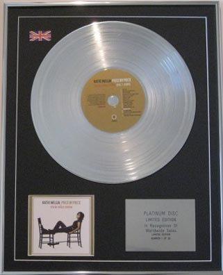 KATE MELUA -CD Platinum Disc- PIECE BY PIECE