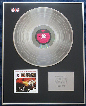 Kinks - Limited Edition CD Platinum LP Disc - Kontroversy