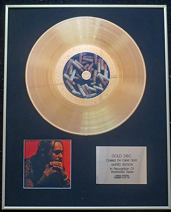 Post Malone - Exclusive Limited Edition 24 Carat Gold Disc - Stoney