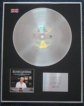 Richard Clayderman - CD Platinum LP Disc - Love Songs Of?