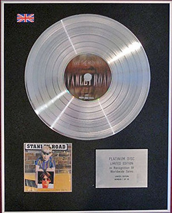 PAUL WELLER - CD Platinum Disc- STANLEY ROAD