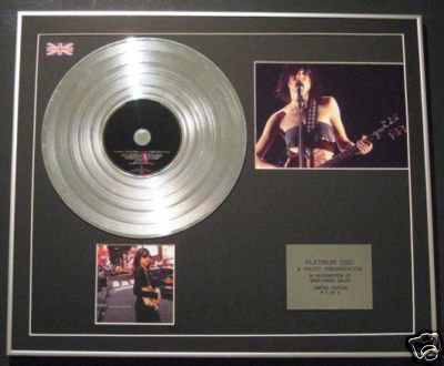 P J HARVEY-CD Platinum Disc+Photo-STORIES FROM THE CITY