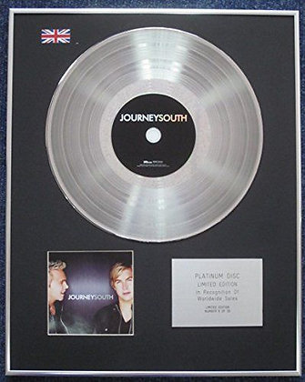 Journey South- Limited Edition CD Platinum LP Disc -'Journey South'