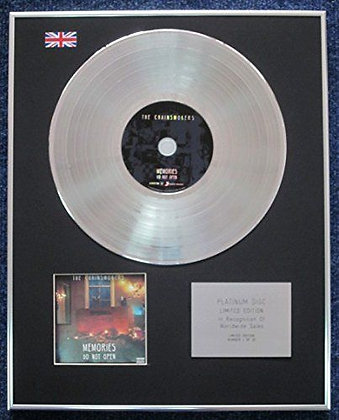 The Chainsmokers - Limited Edition CD Platinum LP Disc - Memories...Do Not Open