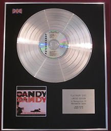 THE JESUS AND MARY CHAIN - CD Platinum Disc - PSYCHOCANDY