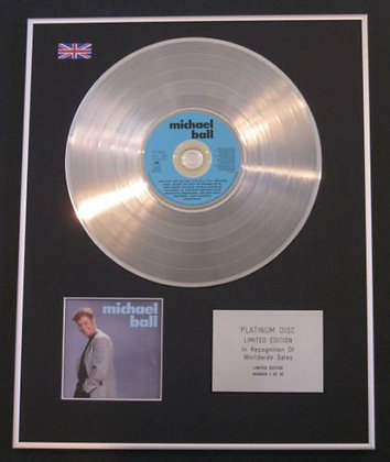 MICHAEL BALL - CD Platinum Disc - MICHAEL BALL