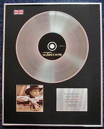 Garth Brooks - Limited Edition CD Platinum LP Disc - Scarecrow