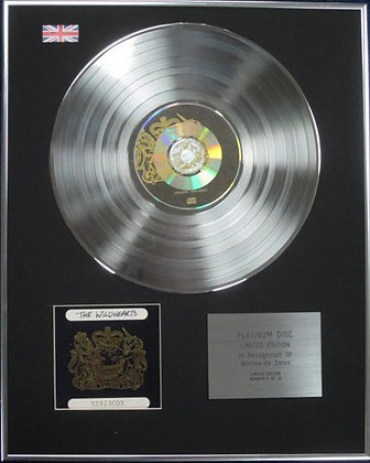 THE WILDHEARTS - Limited Edition CD Platinum Disc