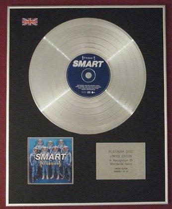 SLEEPER - CD Platinum Disc - SMART
