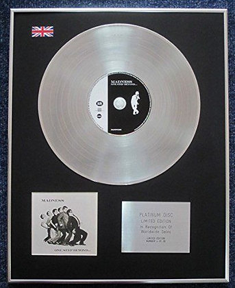 Madness - Limited Edition CD Platinum LP Disc - One Step Beyond (special).