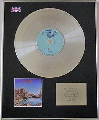 STEVE HOWE - CD Platinum Disc - THE STEVE HOWE ALBUM