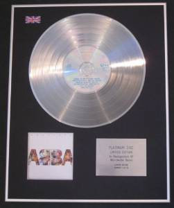 ABBA -  CD Platinum Disc -  ABSOLUTE