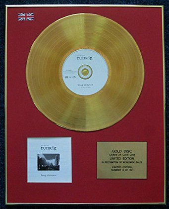 Runrig - Limited Edition CD 24 Carat Gold Coated LP Disc - The Best Of