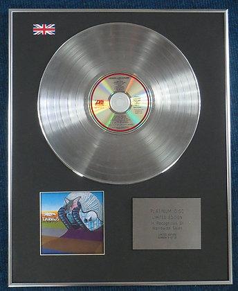 EMERSON,LAKE & PALMER - Limited Edition CD Platinum LP Disc - TARKUS