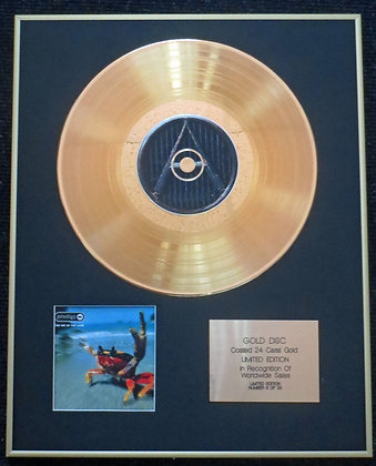 The Prodigy - Exclusive Limited Edition 24 Carat Gold Disc - The Fat of the Land