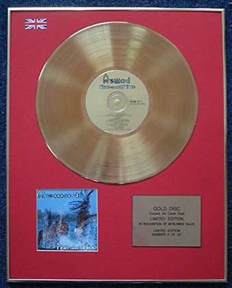 Aswad - Limited Edition CD 24 Carat Gold Coated LP Disc - Rise and Shine