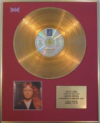 SANDY DENNY - Limited Edition 24 Carat CD Gold Disc - SANDY