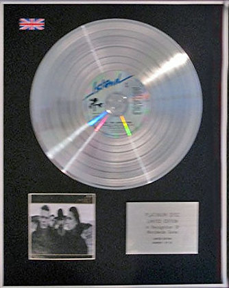 U2 - CD Platinum Disc - JOSHUA TREE