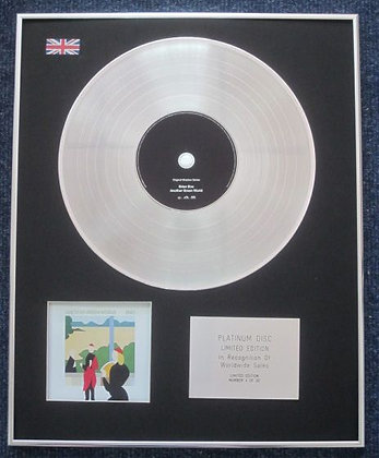 ENO - Limited Edition CD Platinum LP Disc - ANOTHER GREEN WORLD