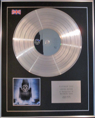 HIM -  Limited Edition CD Platinum Disc - DARK LIGHT